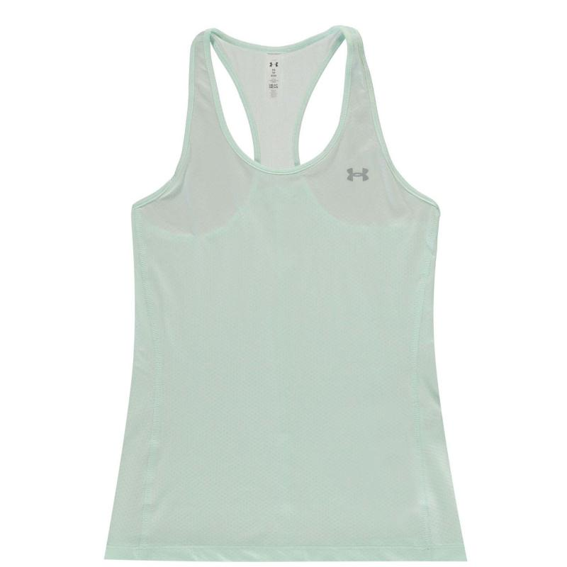 Under Armour HeatGear Racer Tank Top Ladies Seaglass Blue