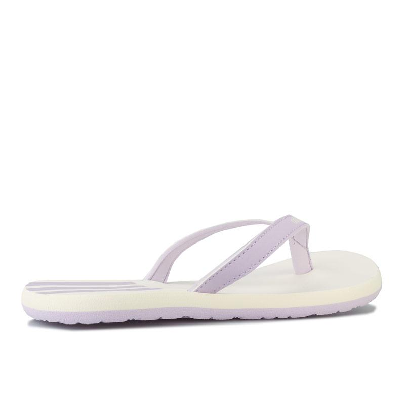 Boty Adidas Womens Eezay Flip Flops Lilac