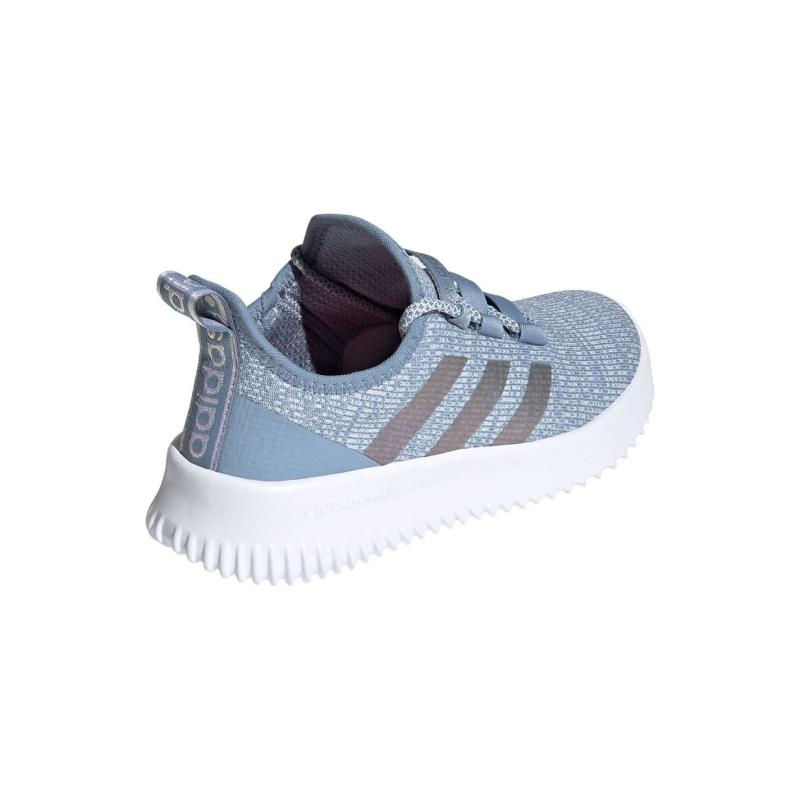 Adidas Kaptir Trainers Child Girls LtBlue/Silv/Wht