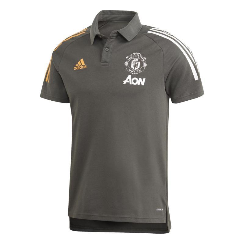 Adidas Manchester United Polo Shirt 2020 2021 Green