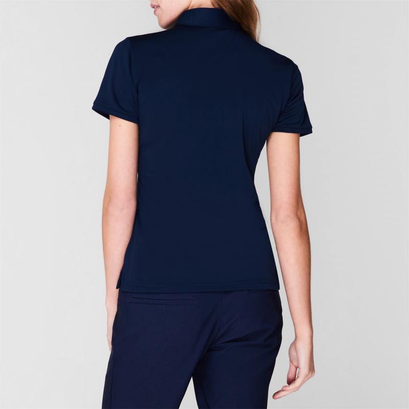 Polokošile adidas Short Sleeve Golf Polo Shirt Womens Navy