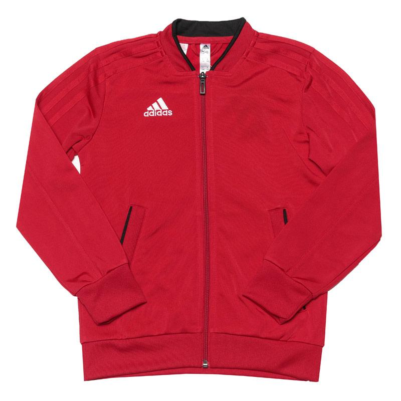 Tepláky Adidas Junior Boys Condivo 18 Presentation Jacket Red