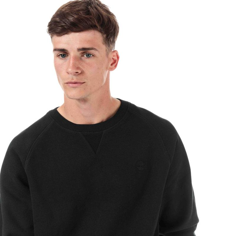 Mikina Timberland Mens Basic Crew Sweat Black