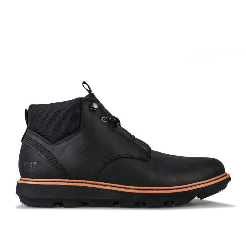 Boty Caterpillar Mens Brusk Lace Boot Black