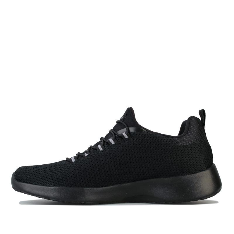 Skechers Mens Dynamight Casual Sport Trainers Black