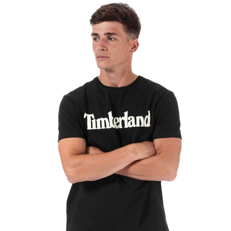 Tričko Timberland Mens Kennebec River T-Shirt Black
