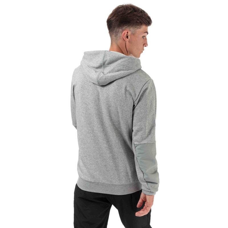 Mikina Adidas Originals Mens M MO Full Zip Hoody Grey