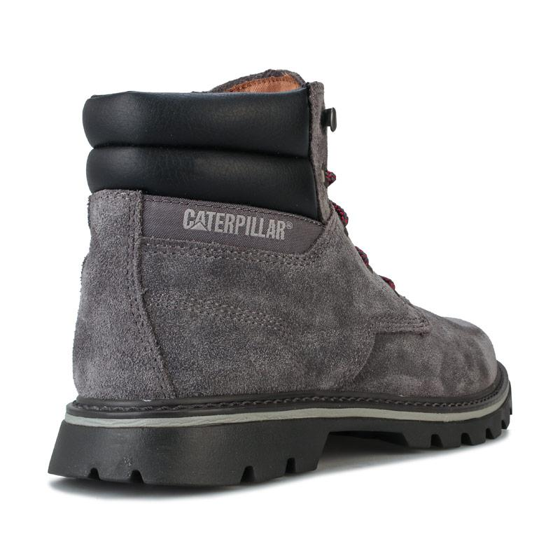 Boty Caterpillar Mens Quadrate Boots Grey