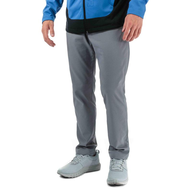 Kalhoty Under Armour Mens Showdown Tapered Pants Grey