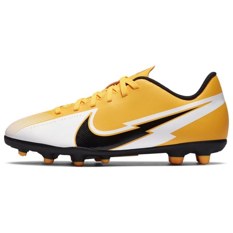 Nike Mercurial Vapor Club Junior FG Football Boots LASER ORANGE/BLACK-WHITE-LASER