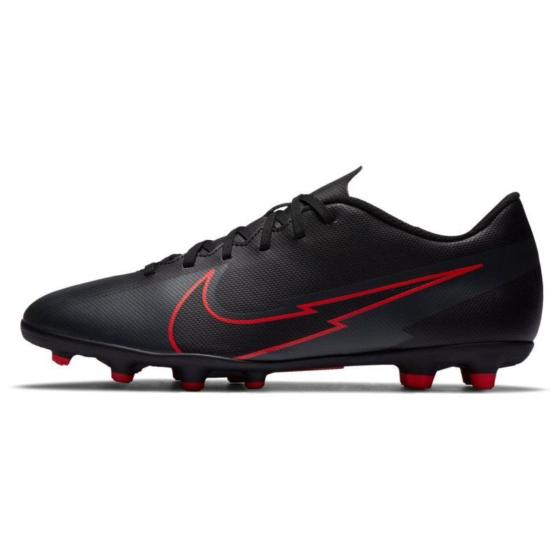Nike Mercurial Vapor Club Mens FG Football Boots BLACK/BLACK-DK SMOKE GREY
