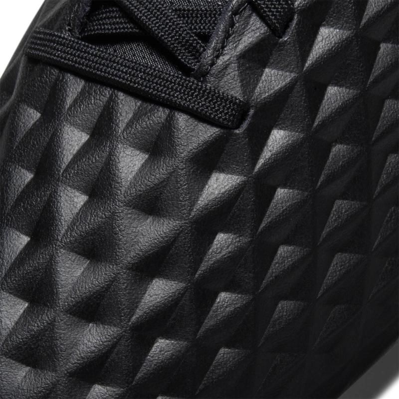 Nike Tiempo Legend Academy Mens FG Football Boots BLACK/DK SMOKE GREY-CHILE RED
