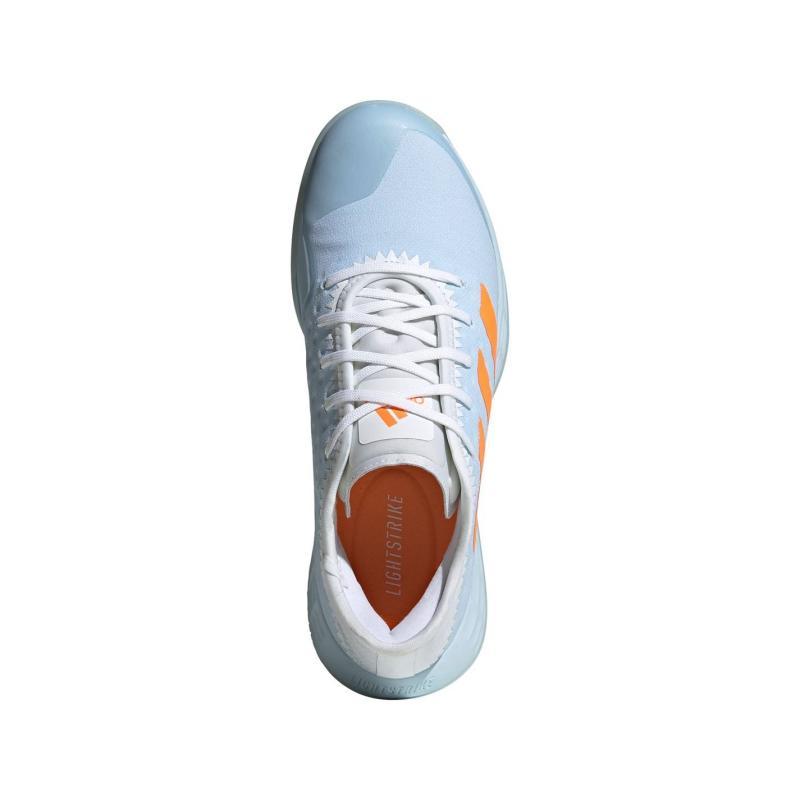 Adidas AdiZero Fast Court Ladies Netball Trainers Sky Tint
