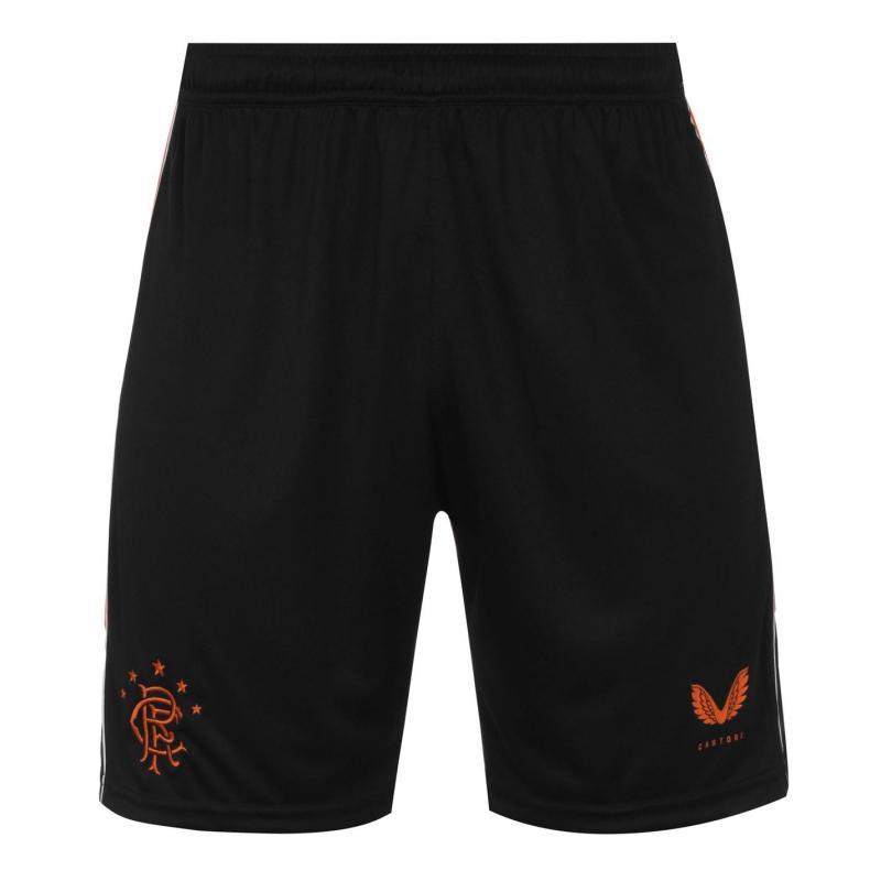 Castore Rangers Third Shorts 2020 2021 Black