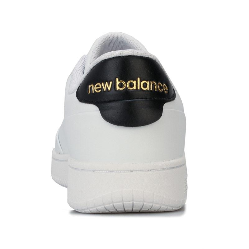 New Balance Mens CT Alley Trainers White Black