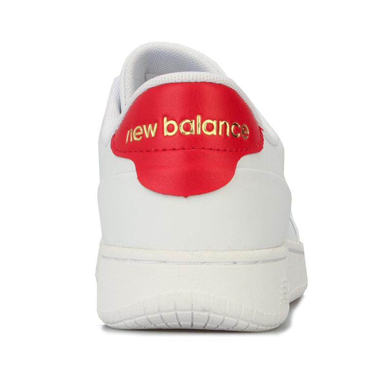 New Balance Mens CT Alley Trainers White red