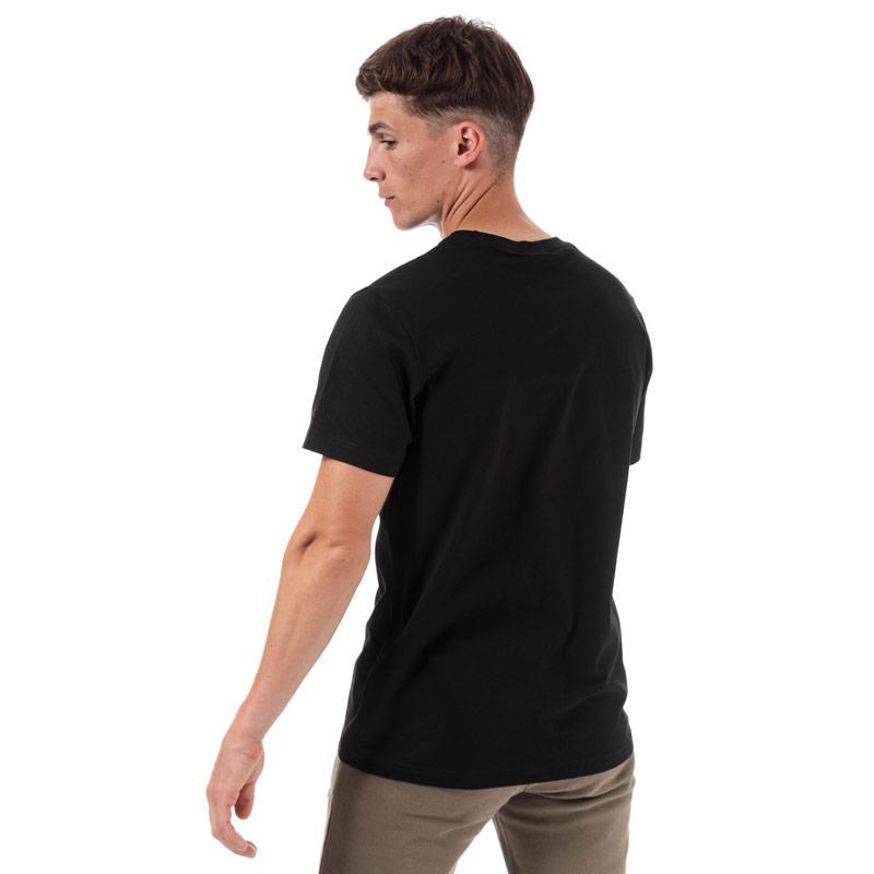 Tričko Champion Mens Large Logo T-Shirt Black