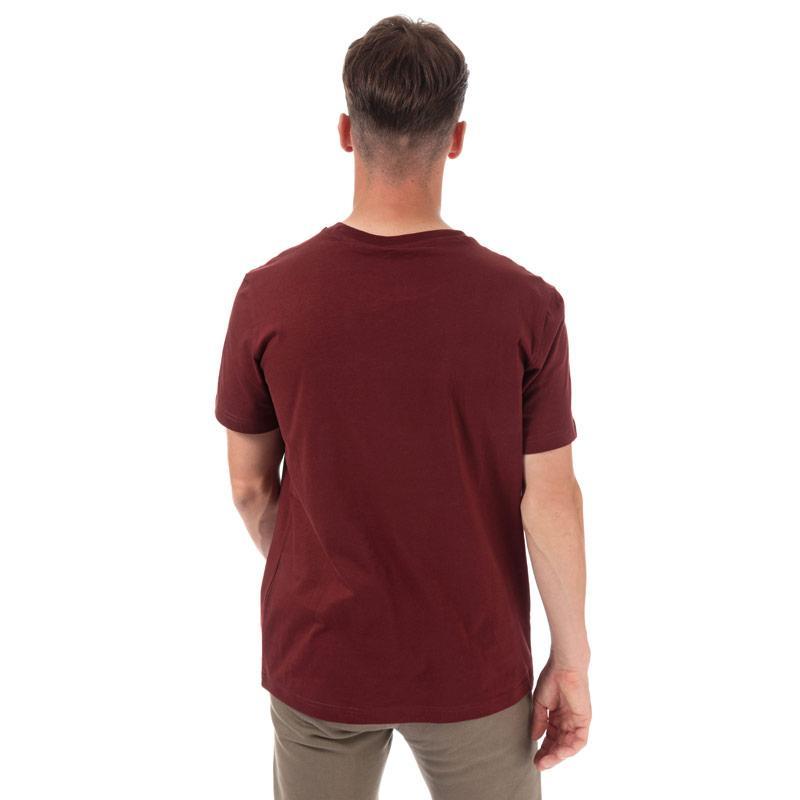 Tričko Champion Mens Large Logo T-Shirt Burgundy