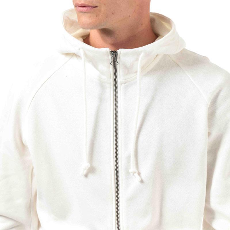 Mikina Adidas Originals Mens XBYO Zip Hoody White