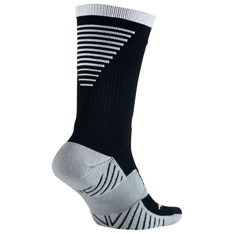 Ponožky Nike Crew Football Socks Mens Black/White