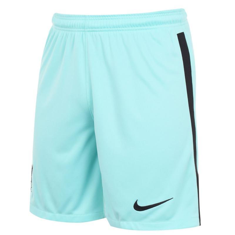 Nike Liverpool Away Shorts 2020 2021 HYPER TURQ/BLACK