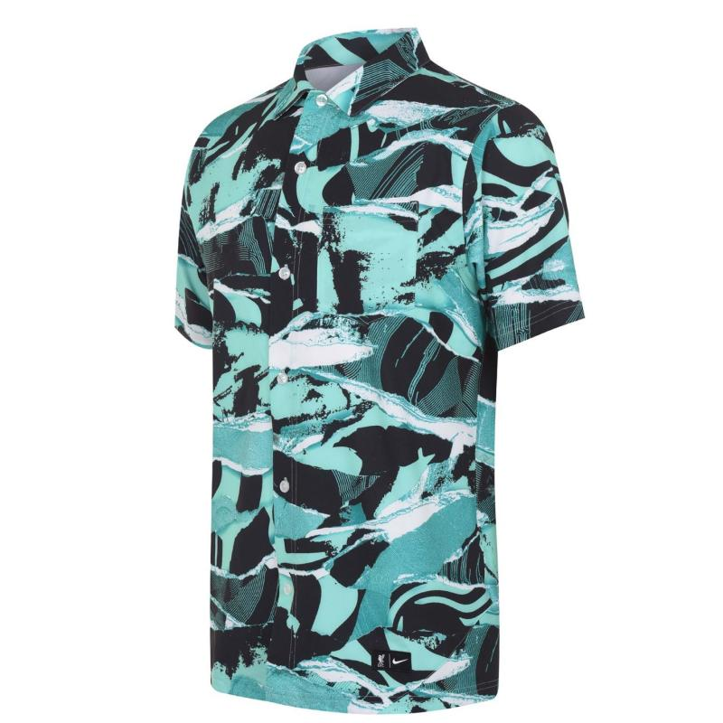 Nike Liverpool Short Sleeve Shirt Mens HYPER TURQ