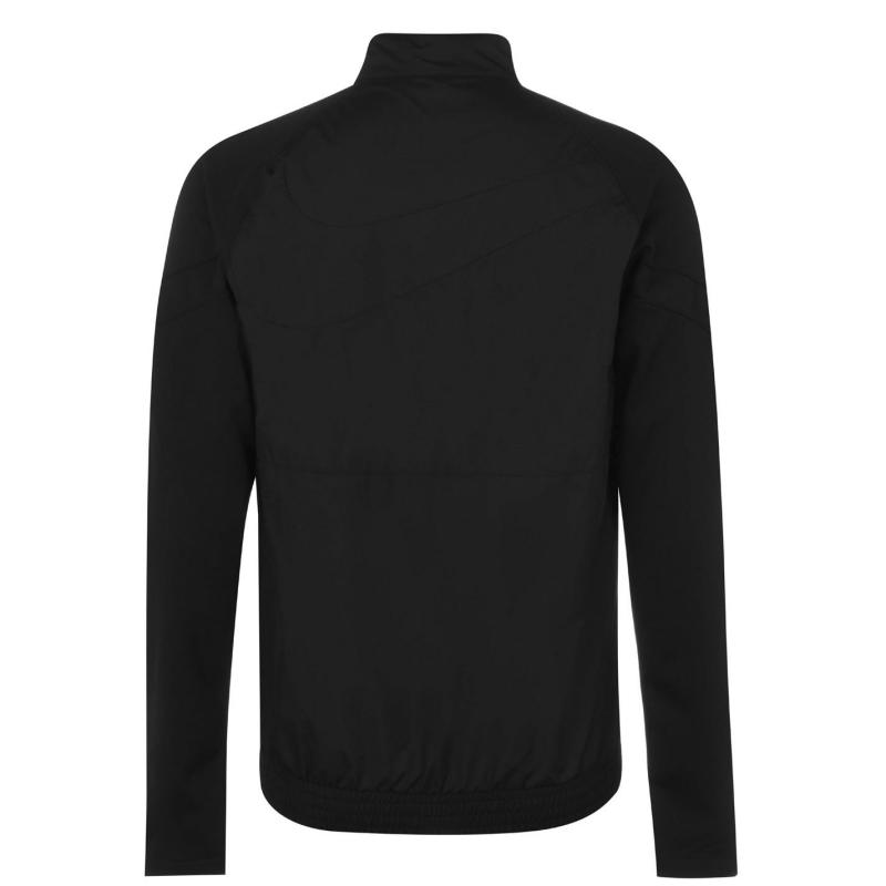 Nike Saint-Germain Men's half -Zip Soccer Jacket BLACK/WHITE/TRULY GOLD