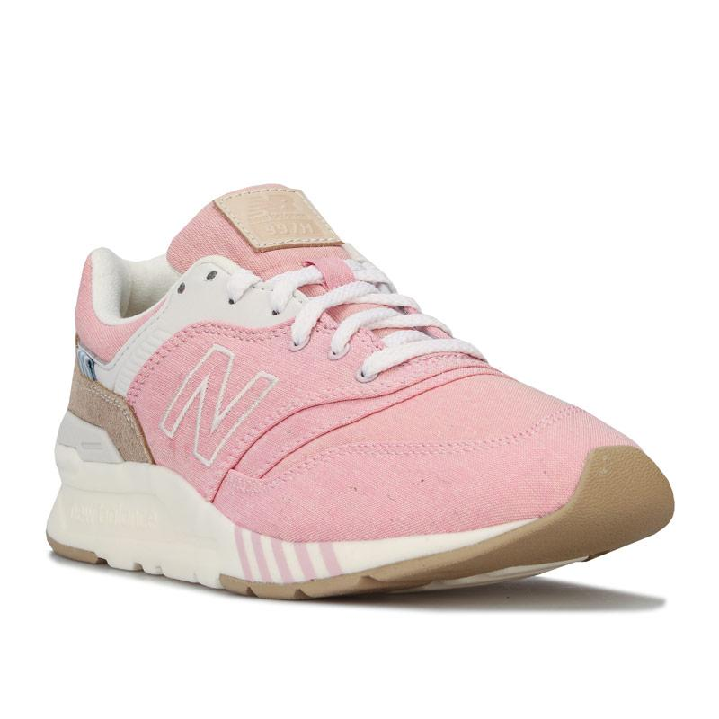 New Balance Womens 997 Trainers Pink