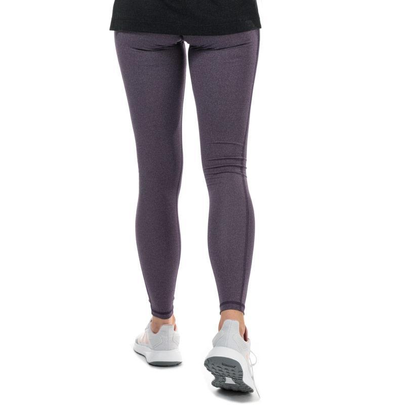 Adidas Womens Believe This Solid Leggings Purple
