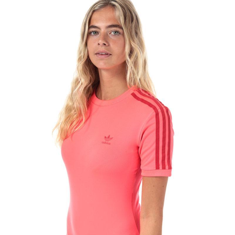 Adidas Originals Womens Bodysuit Coral