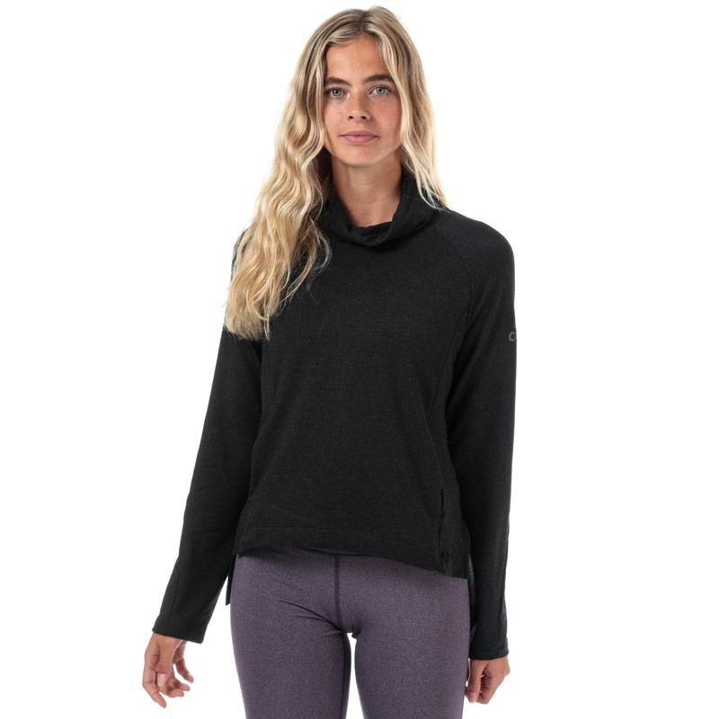 Adidas Womens Cozy Cover Up Top Black