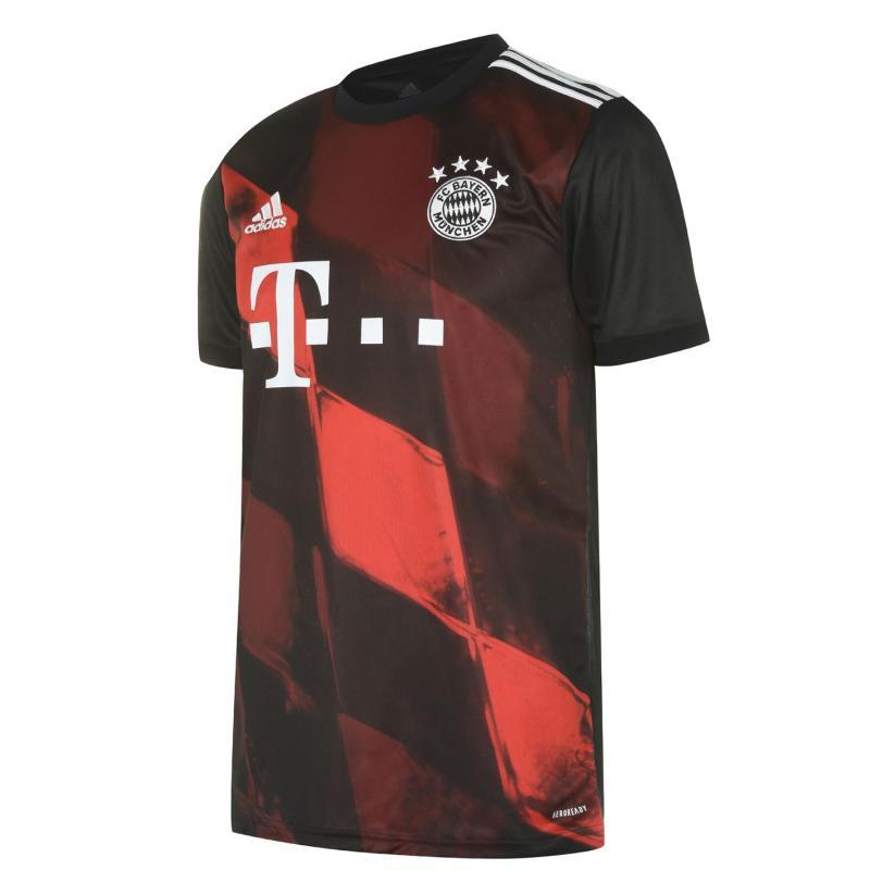 Adidas Bayern Munich Third Shirt 2020 2021 Black