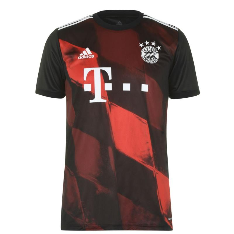 Adidas Bayern Munich Third Shirt 2020 2021 Black