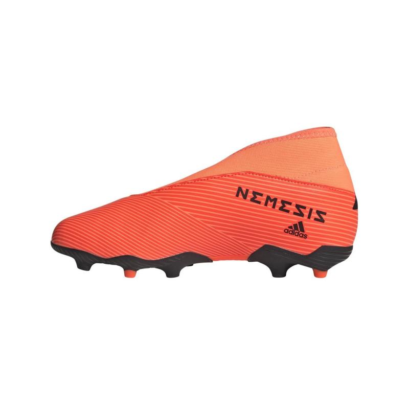 Adidas Nemeziz 19.3 Laceless Junior FG Football Boots SignCoral/Black