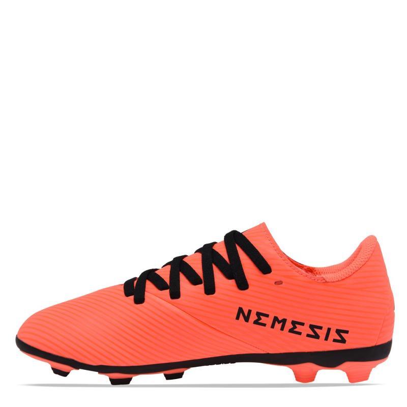 Adidas Nemeziz 19.4 Childrens FG Football Boots SignCoral/Black