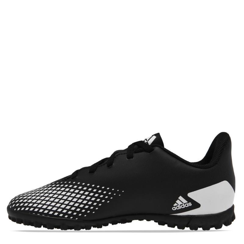 Adidas Predator 20.4 Junior Astro Turf Trainers Black/White/Blk