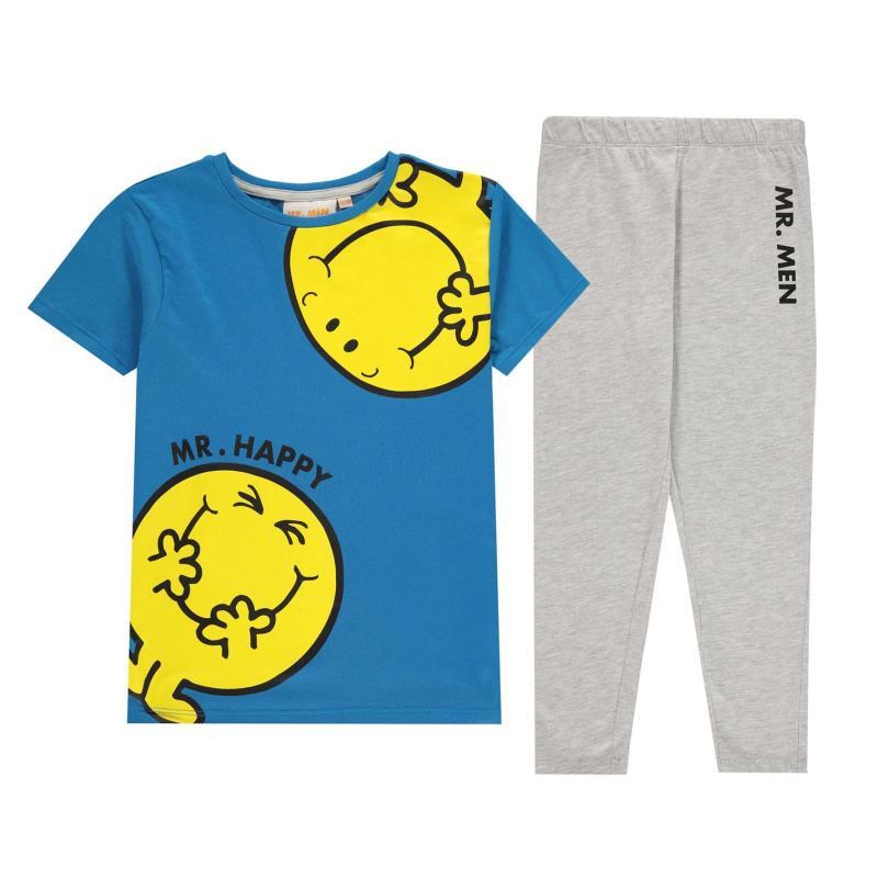 Pyžamo Character Pyjama Set Infant Boys Mr Happy