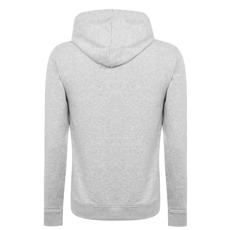 Mikina DC Slant Logo Hoodie Grey