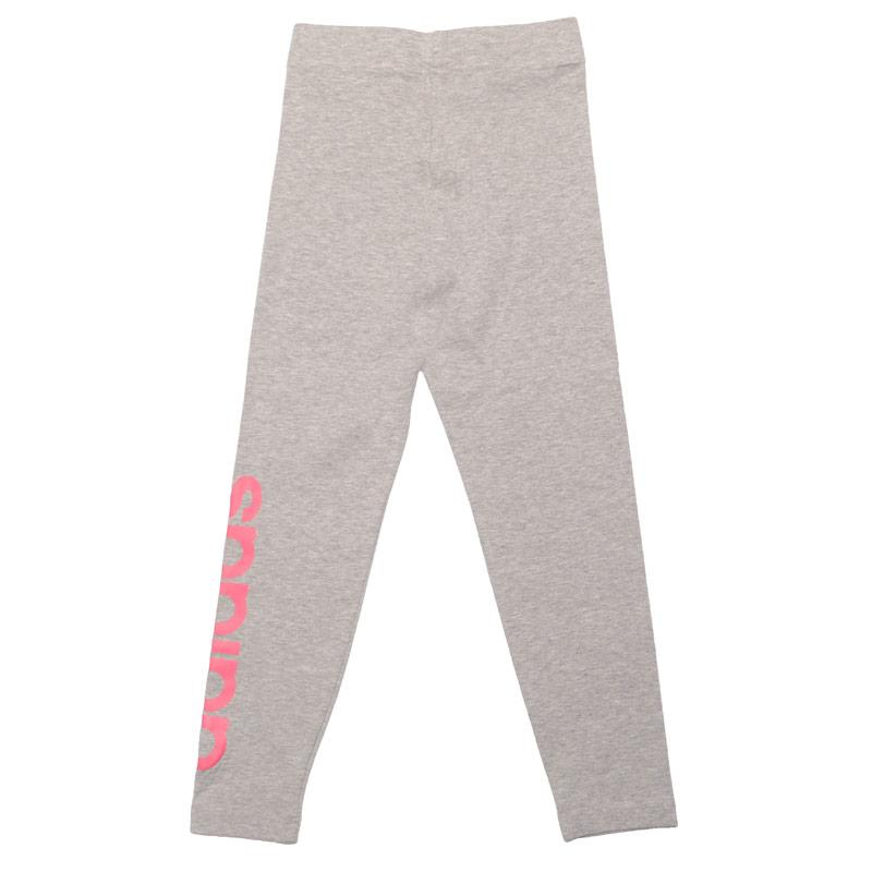 Adidas Junior Girls Essentials Linear Leggings Grey