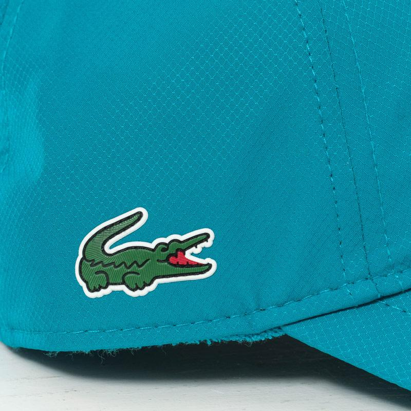 Lacoste Mens Baseball Cap Turquoise