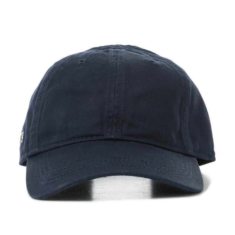 Lacoste Mens Baseball Cap Blue