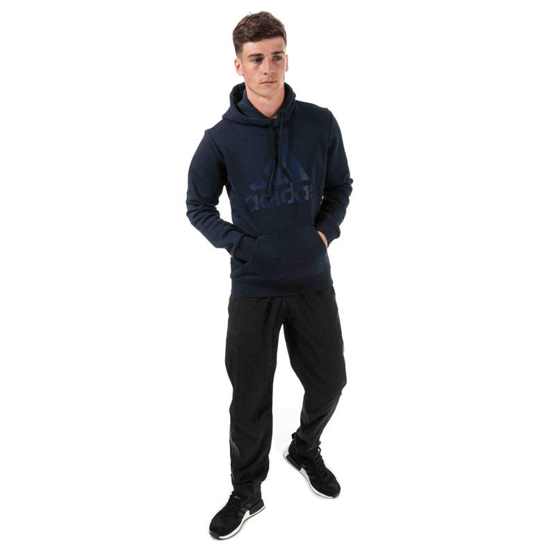Mikina Adidas Mens Must Haves Badge Of Sport Hoody Navy
