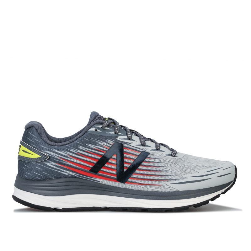 New Balance Mens Synact Running Shoes Grey