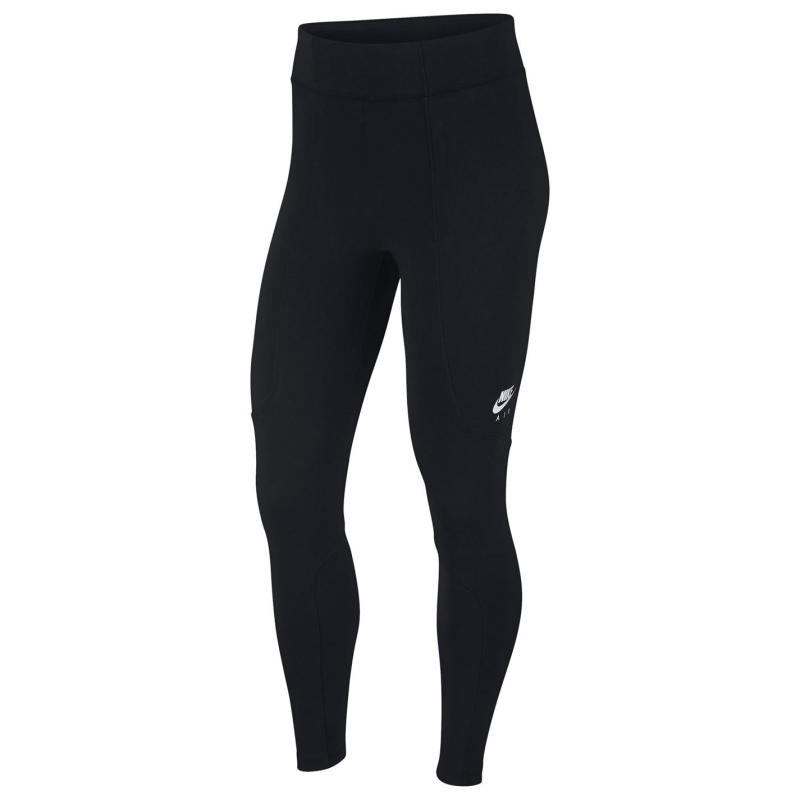 Legíny Nike Air Women's 7/8 Leggings BLACK/BLACK/WHITE/WHITE