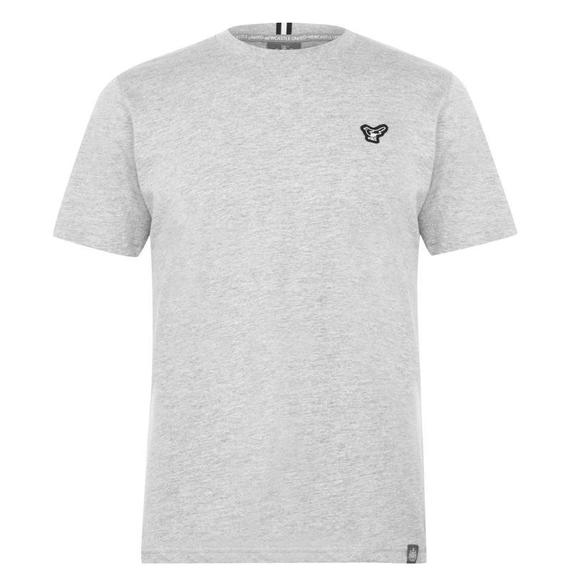 NUFC Magpie T Shirt Mens Grey
