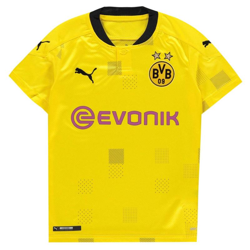 Puma Borussia Dortmund Cup Shirt 2020 2021 Junior Yellow/Black