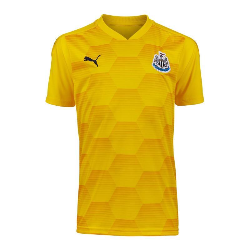 Puma Newcastle United Goalkeeper Third Shirt 2020 2021 Junior Cyber Yellow