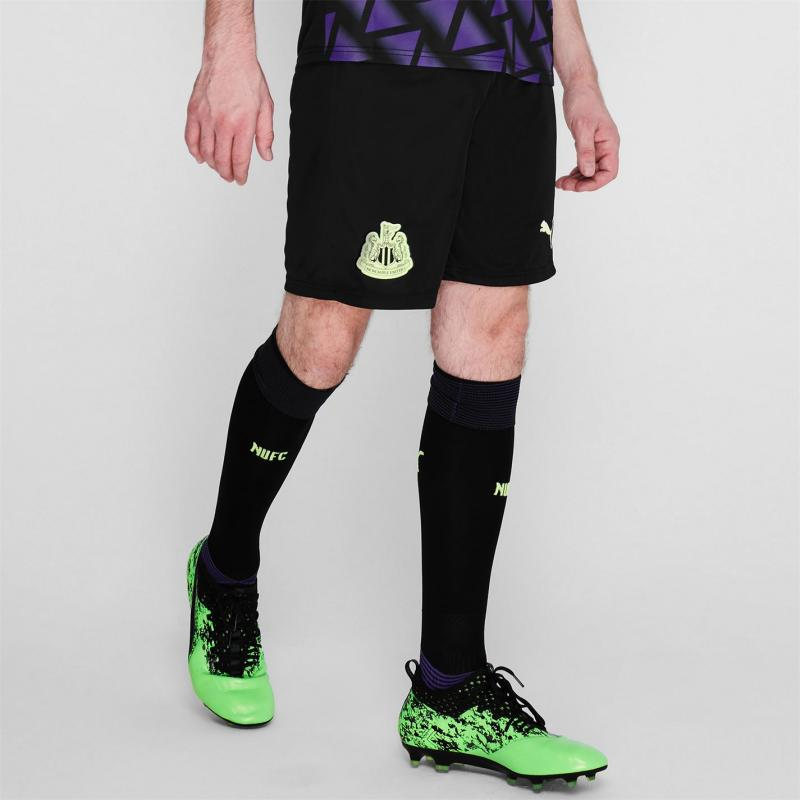 Puma Newcastle United Third Shorts 2020 2021 Black