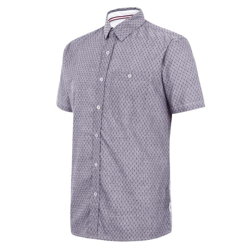 Soviet Short Sleeve Shirt Grey