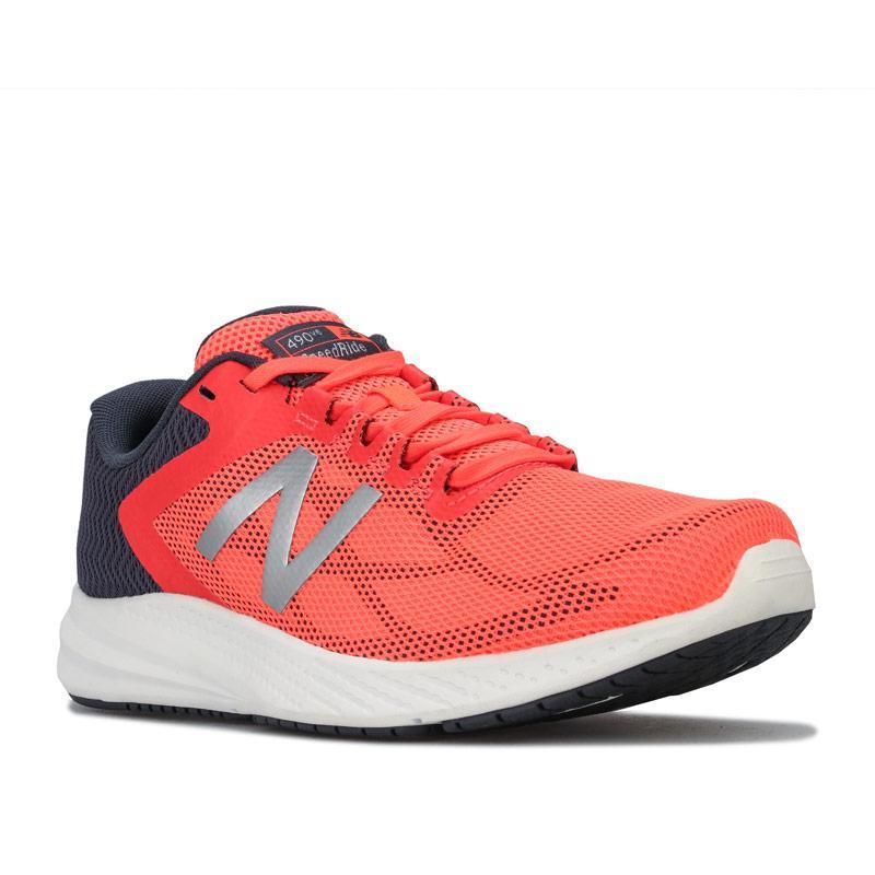 New Balance Womens 490v6 Running Shoes Orange